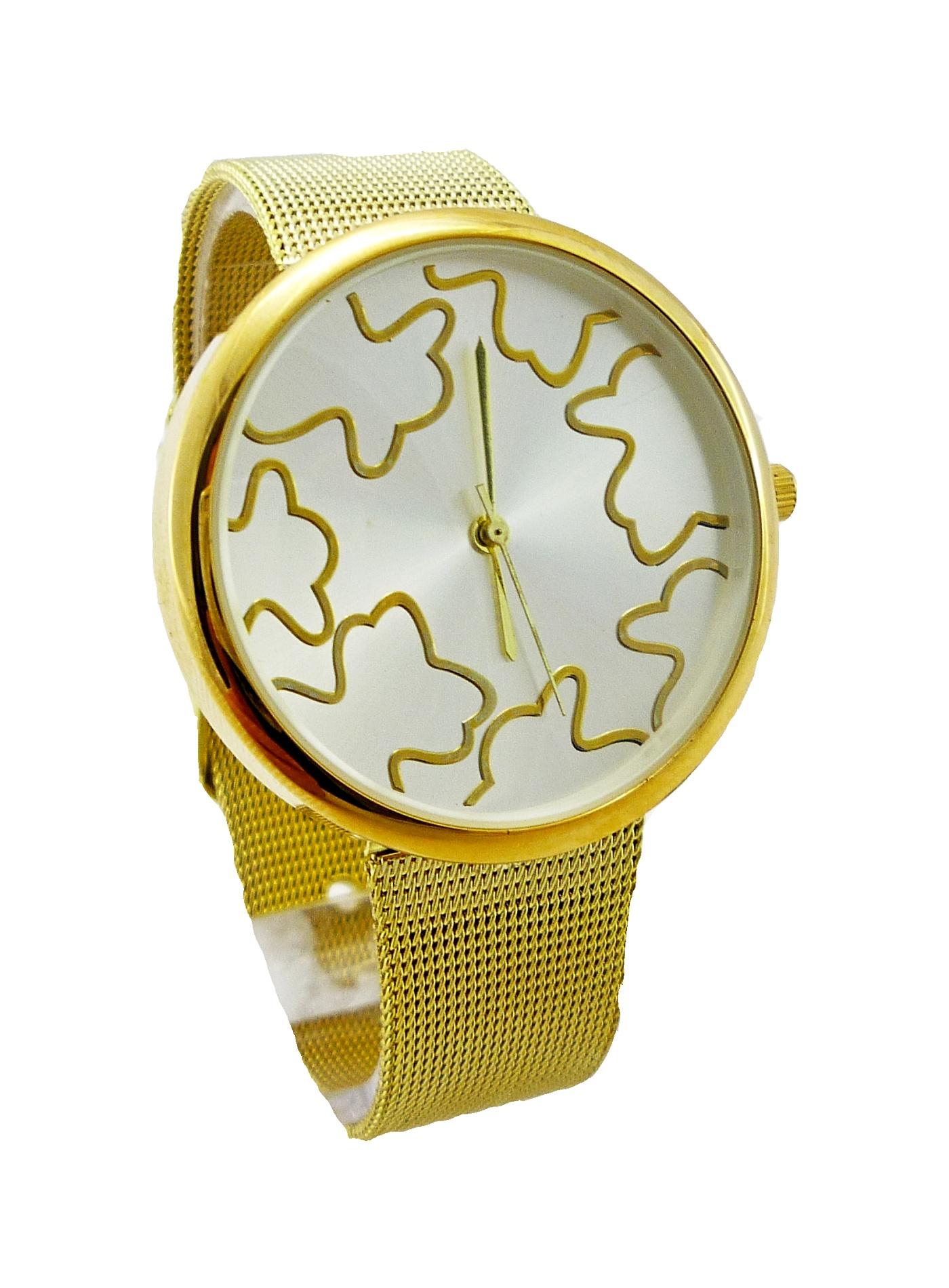 Dámské zlaté hodinky Graffic 104D