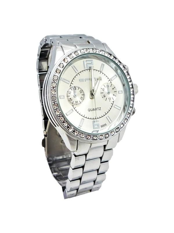 Dámské stříbrné hodinky SFNY Silver 491ZD