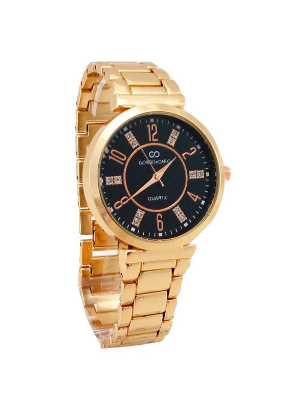 Dámské hodinky GIORGIO DARIO Wispy Rose gold black 487ZD