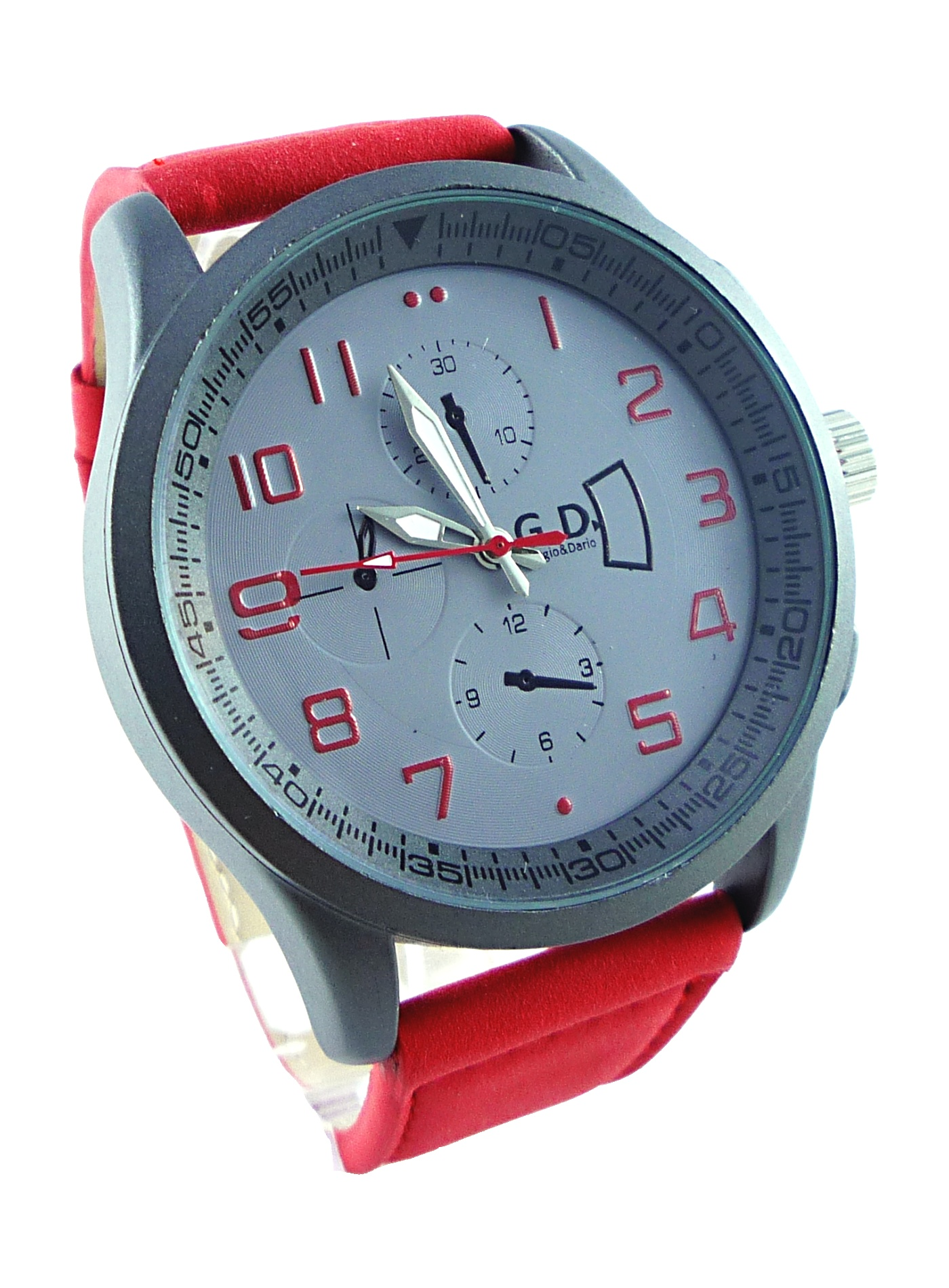 Pánské sportovní hodinky GD sport RED 016P