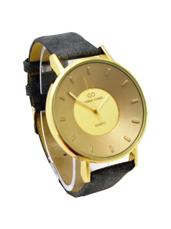 Dámské hodinky Giorgio Dario Suede šedé 479ZD 75a45e0411