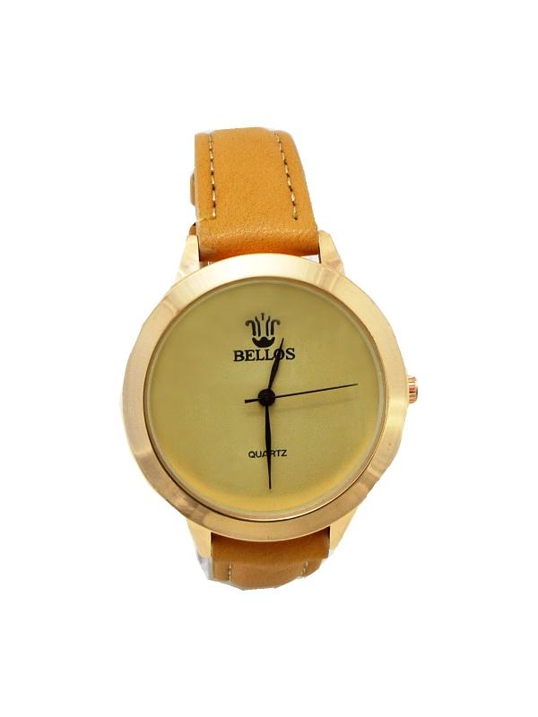 Dámské hodinky Bellos béžové 486ZD