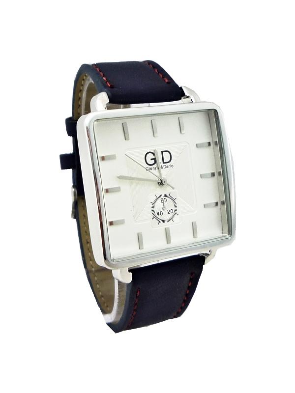 Pánské hodinky G.D Dark Cubus modré 164ZP
