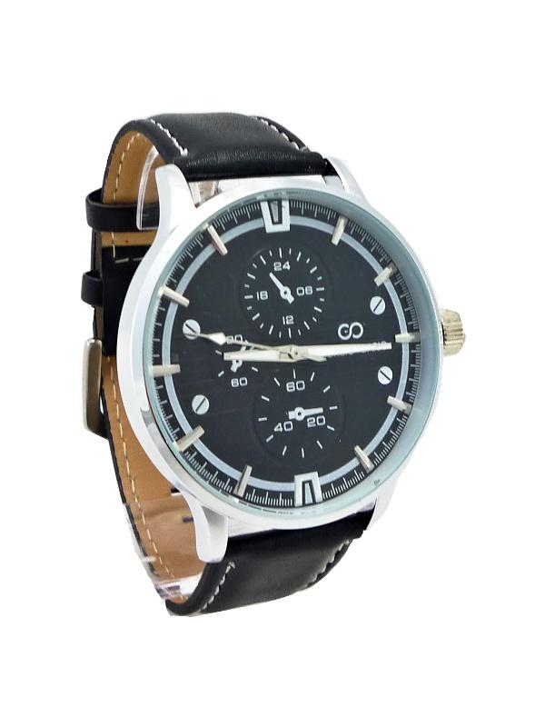 Pánské černé hodinky GIORGIO DARIO Stylish 126P
