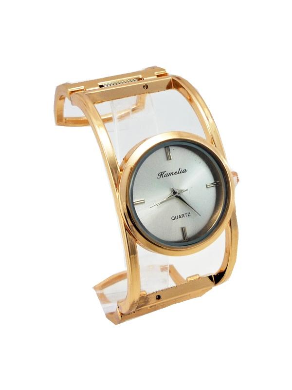 Dámské hodinky Kamelia bronzové 437D