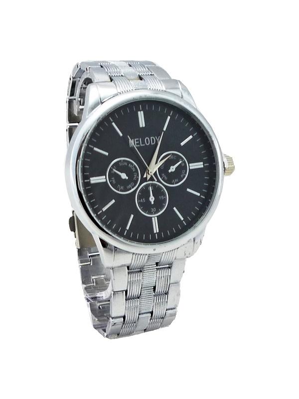 Pánské hodinky MELODY stříbrné 291P