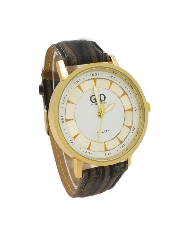 Dámské hodinky G.D Luxory hnědé 031D d657cdab013