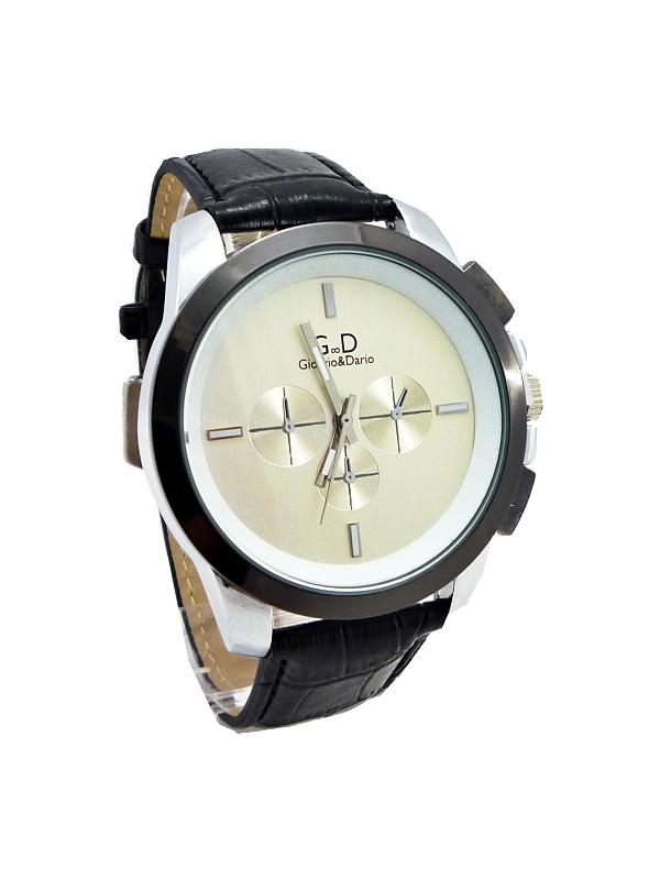 Pánské hodinky G.D Clearly černé 142ZP