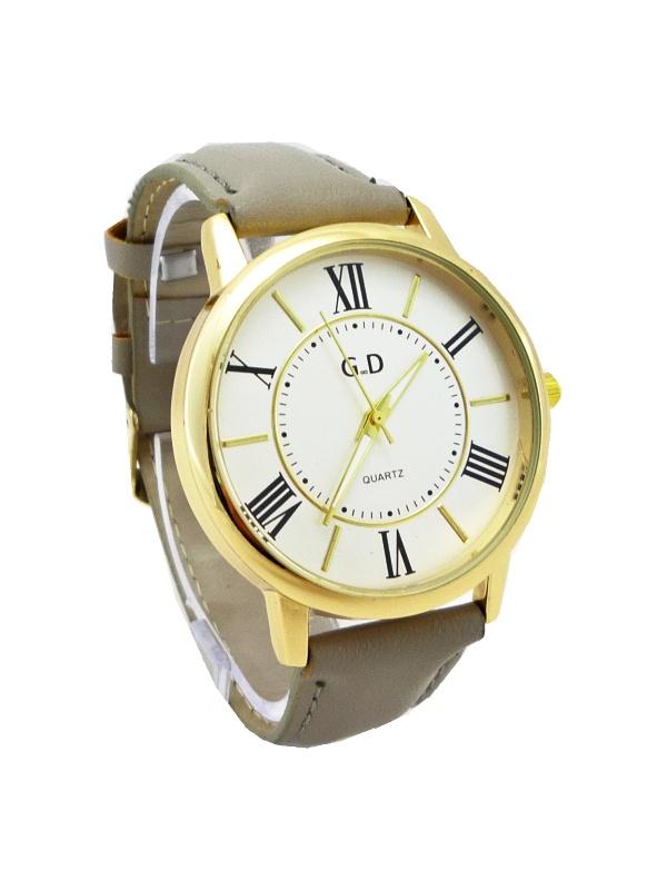 Dámské hodinky G.D Bright šedo-zlaté 368D