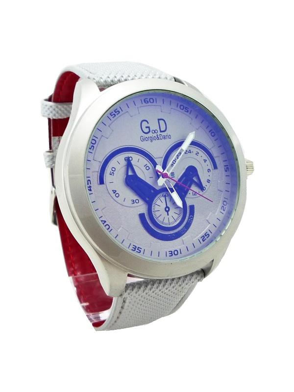 Pánské hodinky G.D Genuine šedé 112P