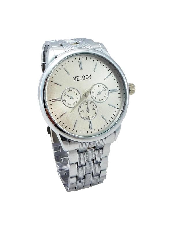 Pánské hodinky Melody stříbrné 285P