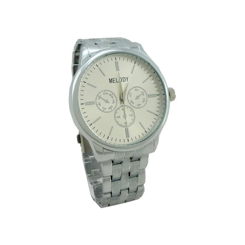 584a9eb488b Doprava ZDARMA. Pánské hodinky Melody stříbrné 285P