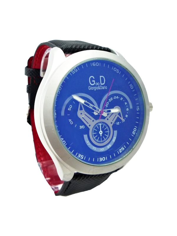 Pánské hodinky G.D Genuine černé 113P