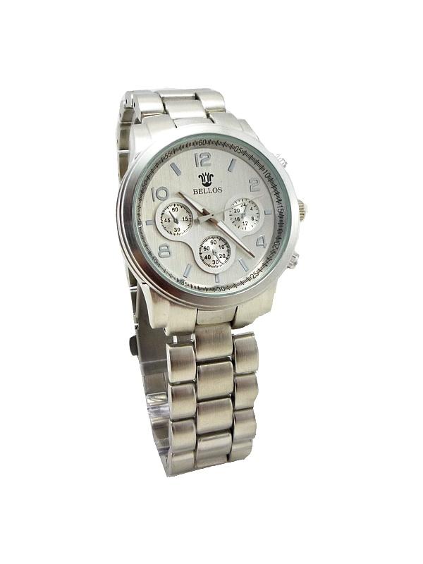 Dámské stříbrné hodinky BELLOS Luxory 450D