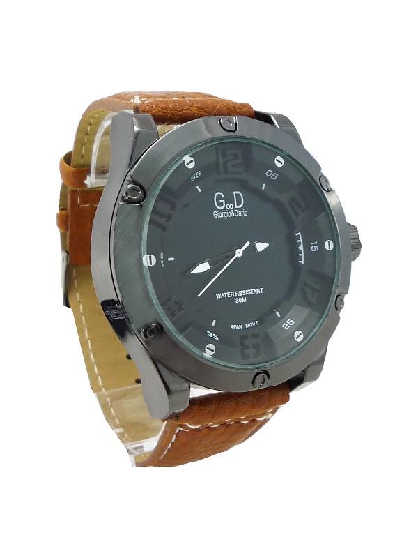 Pánské hodinky G.D Extravagants hnědé 171ZP