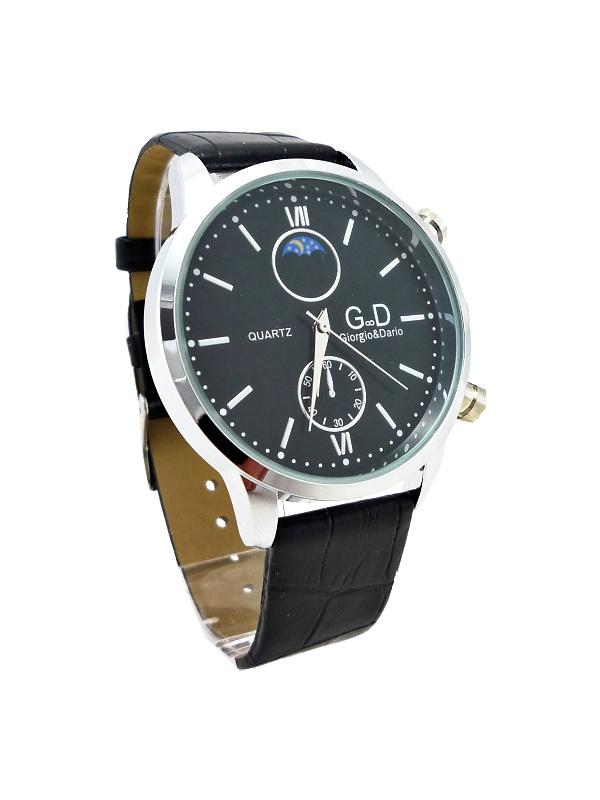 Pánské hodinky G.D Star stříbrno-černé 159ZP d80bea1c911