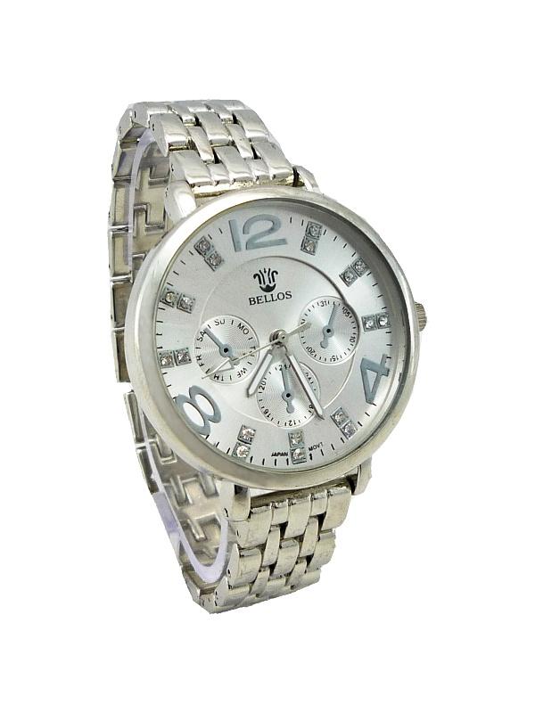 Dámské hodinky Bellos Just stříbrné 511ZD