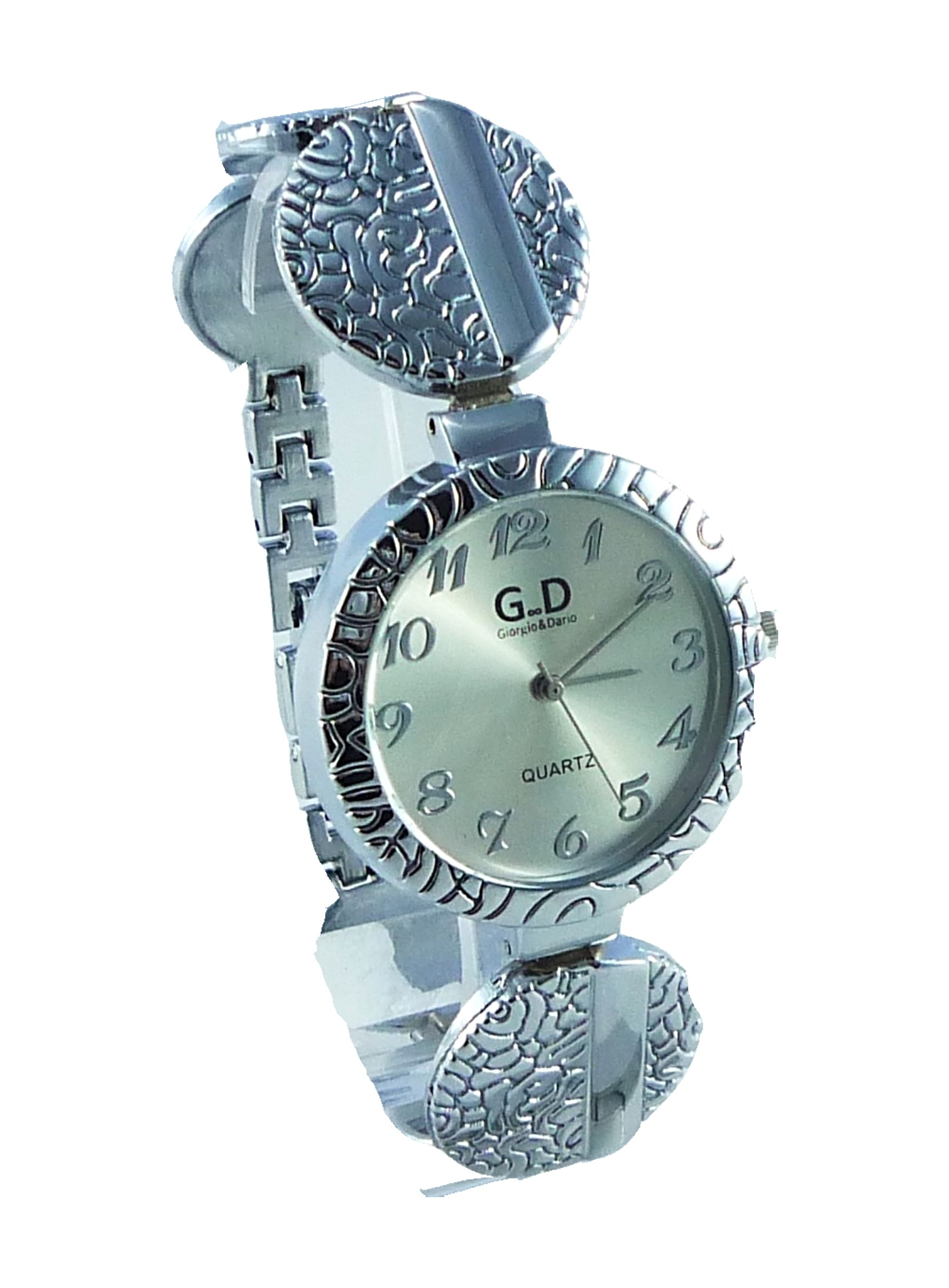 Dámské stříbrné hodinky Styl GD silver 047D