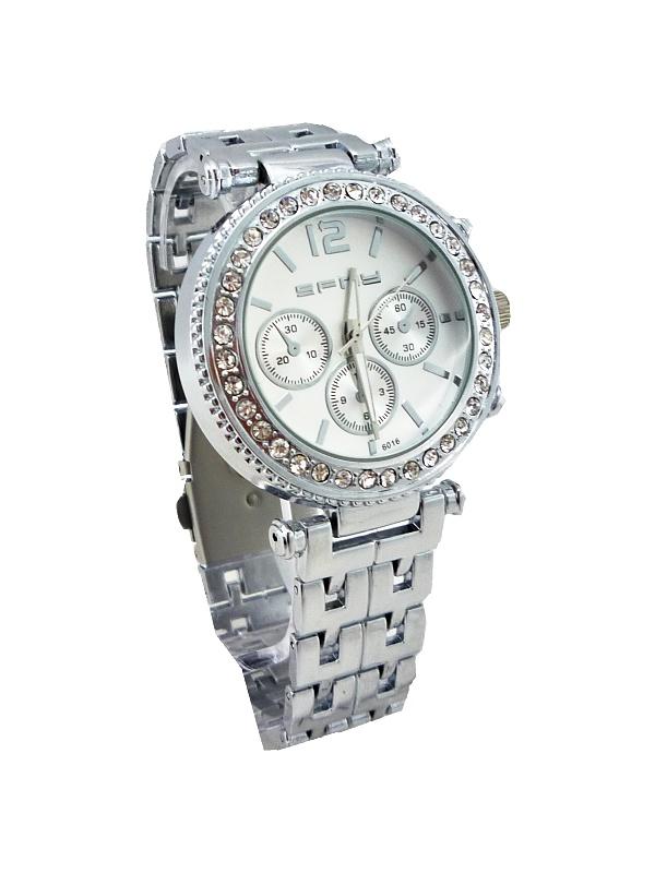 Dámské stříbrné hodinky SFNY Elegant stříbrné 495ZD