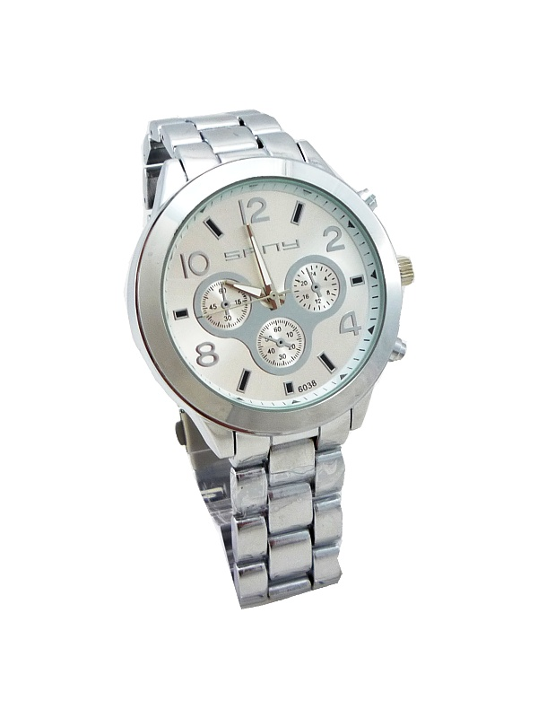 Pánské hodinky SFNY Elegant stříbrné 178ZP ebd9b1f3e1