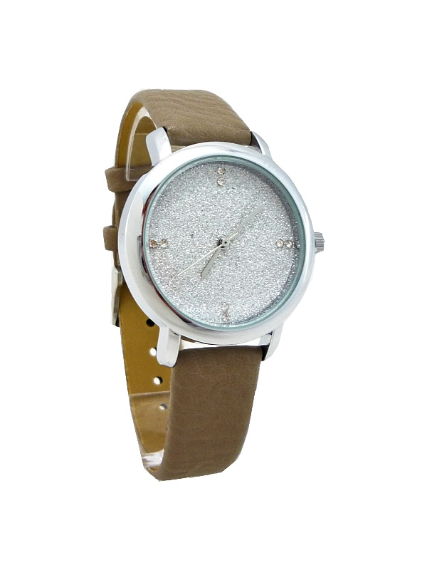 Dámské hodinky Giorgio Dario Shine stříbrno-béžové 475ZD