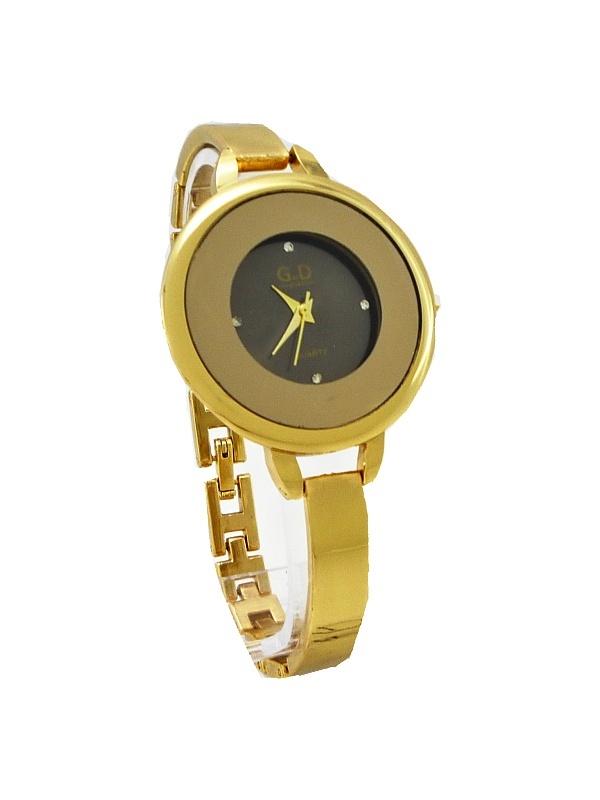 Dámské zlaté hodinky G.D Thin zlaté 297D