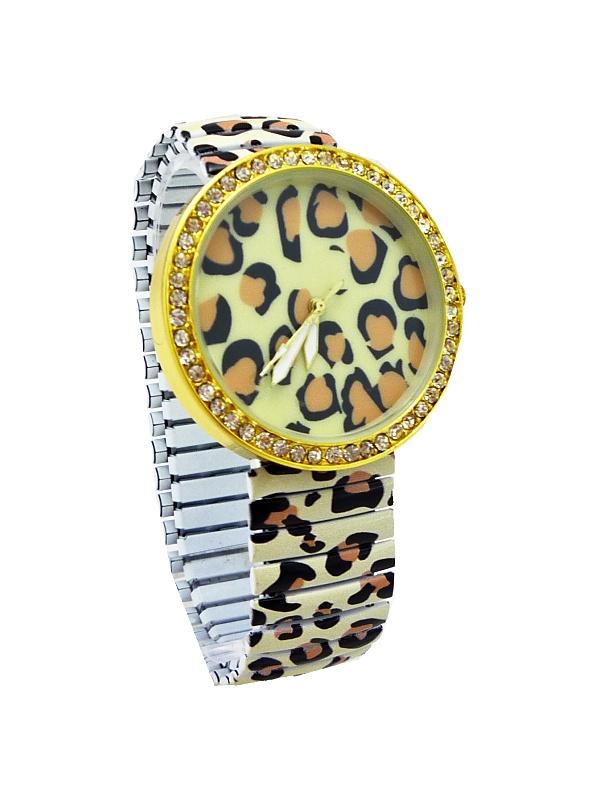 Dámské hodinky G.D Tiger tygrovano-zlaté 314D 3824fa76e04
