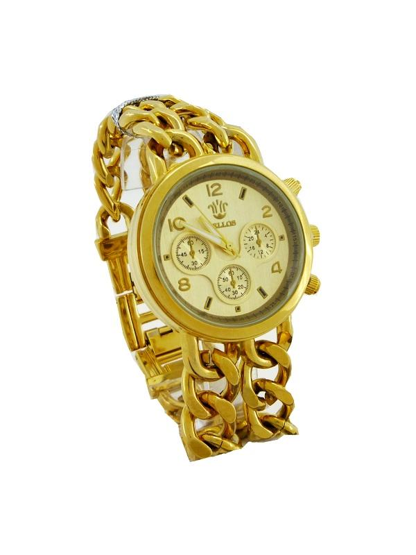 Dámské hodinky Bellos Extravagant zlaté 326D