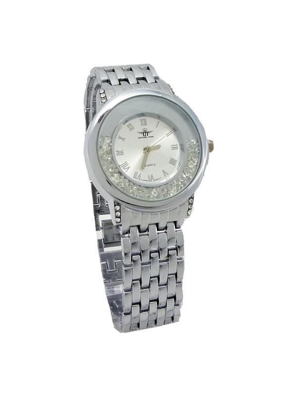 Dámské hodinky Michael John stříbrné 503ZD