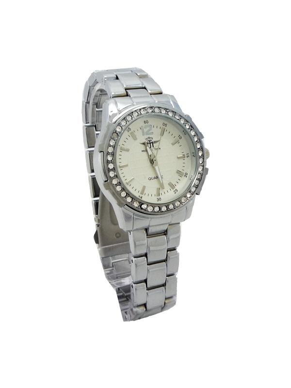 Dámské hodinky Michael John Elegants stříbrné 504ZD