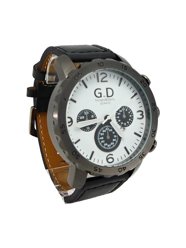 bdfa7382434 Masivni panske hodinky hranaty cifernik