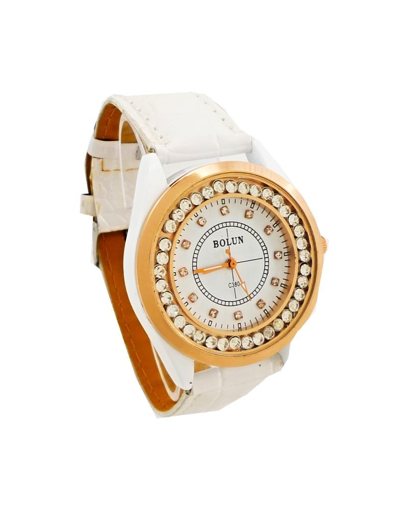 Dámské hodinky Bolun Dario bílé 349D d845d7d04f