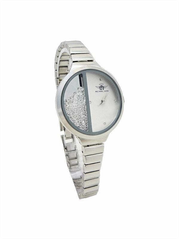 Dámské hodinky Michael John Delikte stříbrné 524ZD