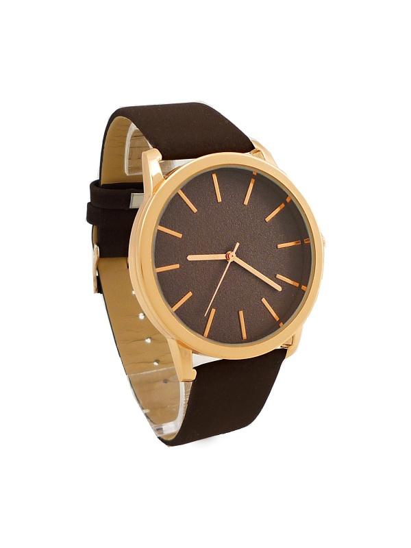 Dámské hodinky Ernest Purply tmavě hnědé 616D