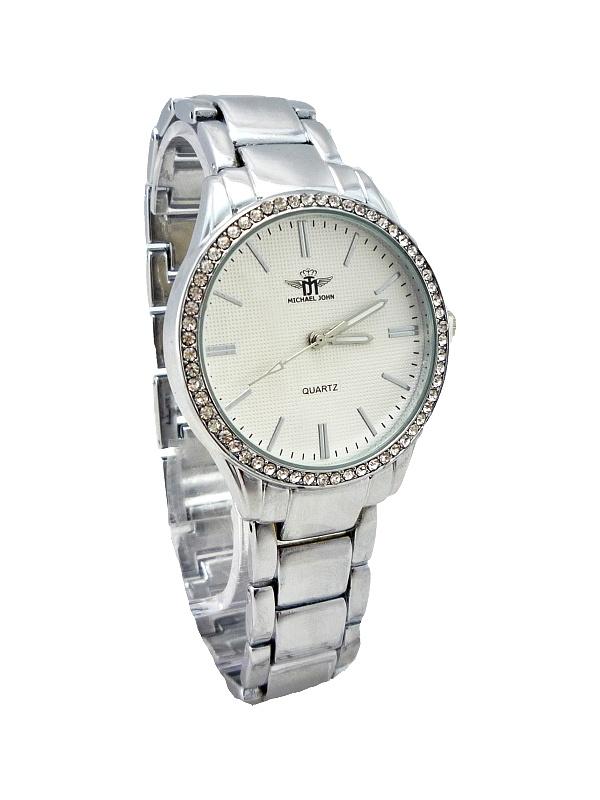 Dámské hodinky John Imaginative stříbrné 293ZD