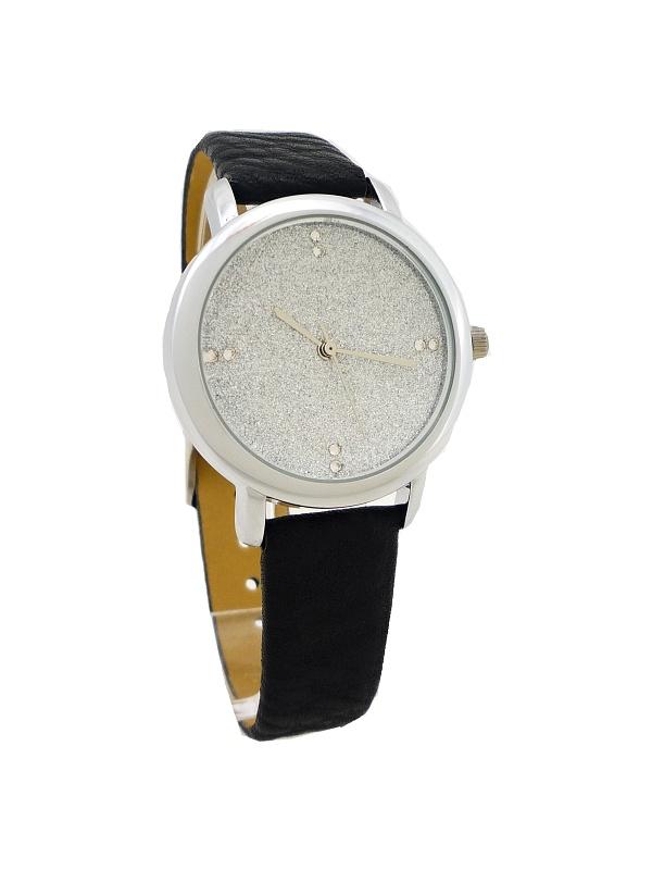 Dámské hodinky Giorgio Dario Shine stříbrno-černé 474ZD
