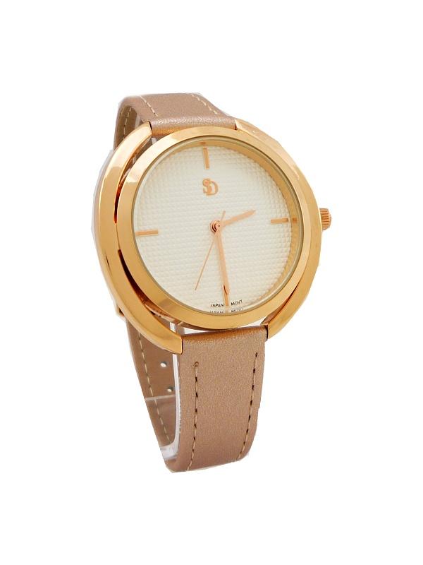 f0a63c464b5 Dámské hodinky SD Kaite bronzové 667D