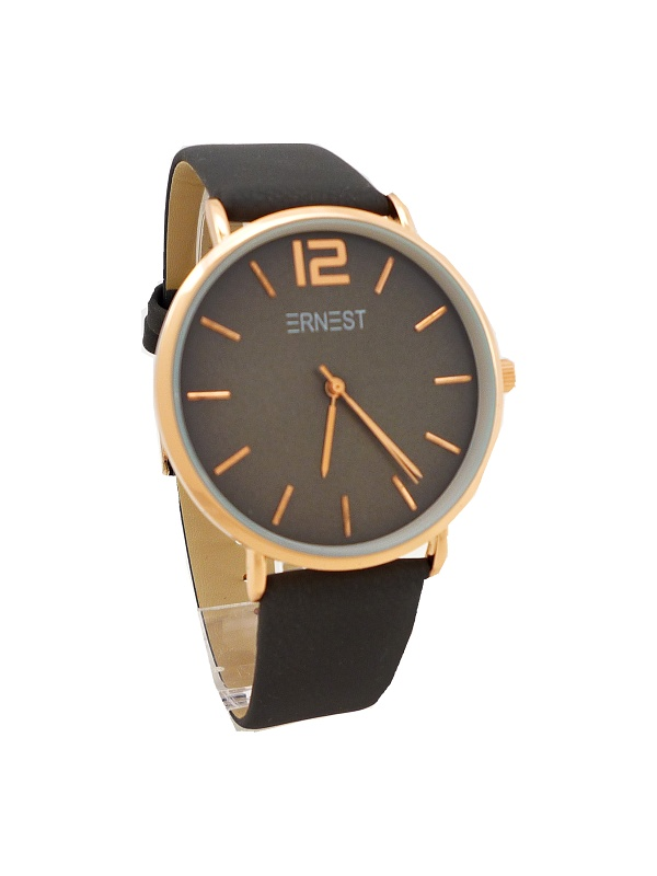Dámské hodinky Ernest Ment tmavě šedé 606D 16771566f3