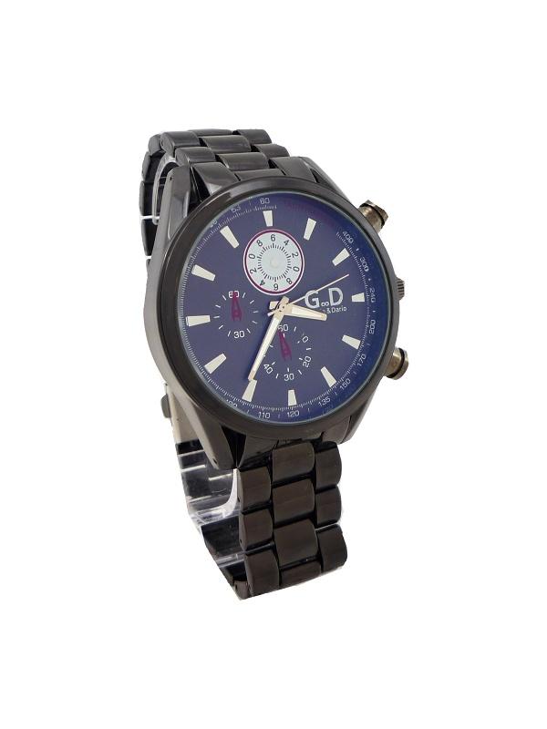 Pánské hodinky G.D Capro černé 303ZP 49fb86b238