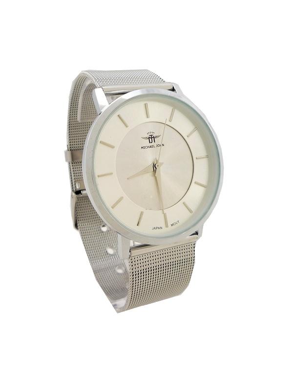 Dámské hodinky Michael John Well stříbrné 521ZD