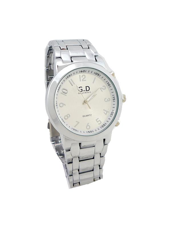 0808cb75e22 Panske slim hodinky s kovovym paskem levně
