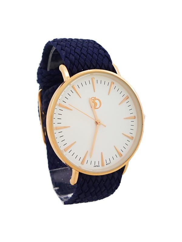Dámské hodinky SD Monny bronzovo-modré 610D