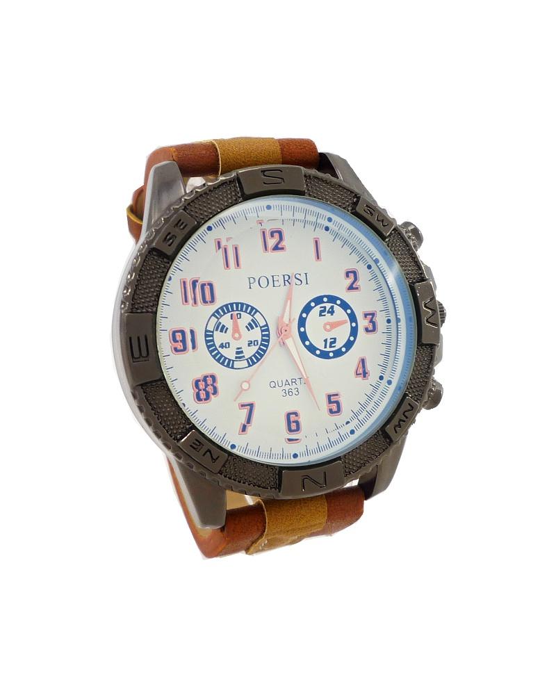 Pánské hodinky Poersi Luxury hnědé 189ZP 3a9643ce97