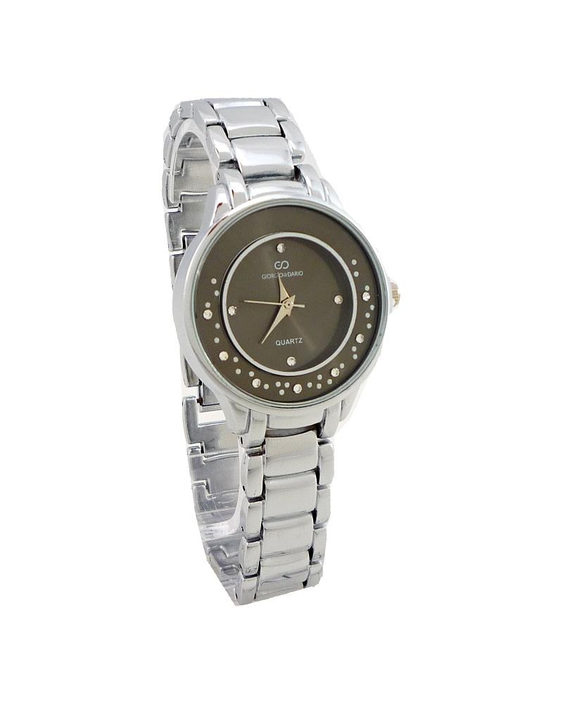 Dámské hodinky Giorgio Dario Worry stříbrné 654D