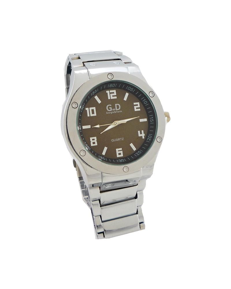 e1189a7eb1b Pánské hodinky G.D Melody stříbrné 302ZP
