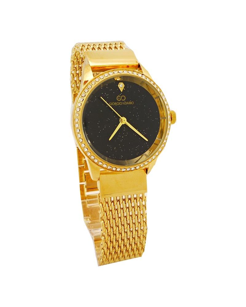 Dámské hodinky Giorgio Dario Bell zlaté 656D