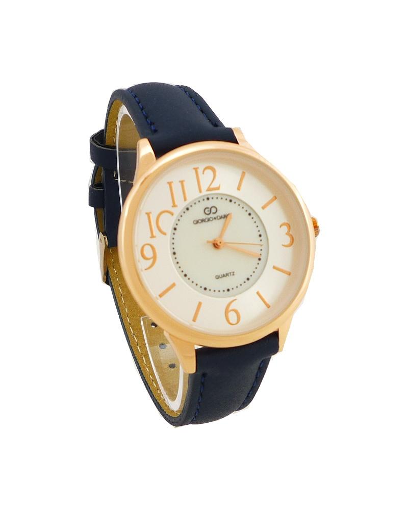 Dámské hodinky Giorgio Dario Nico bronzovo-modré 528ZD