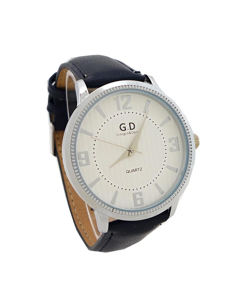Dámské hodinky G.D Eleny stříbrno-tmavě modré 575ZD c8e31933c4