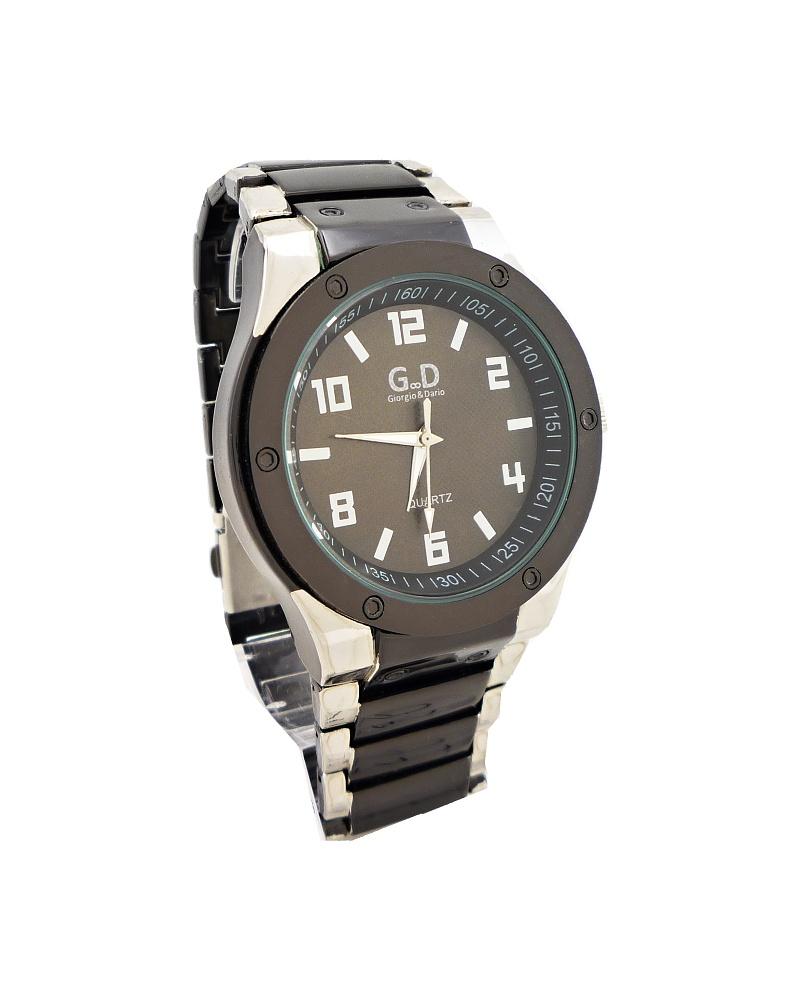 Pánské hodinky G.D Melody černo-stříbrné 309ZP d68c3386d9