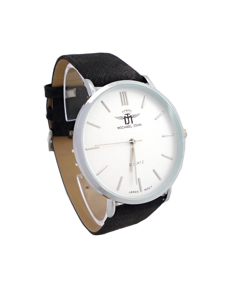Dámské hodinky Michael John Kamely stříbrno-černé 535ZD  9d57dccc73